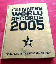 GUINNESS WORLD RECORDS 2005 ILLUSTRATED NEW BOOK ALBUM 50th ANNIVERSARY EDITION
