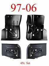 97 06 Jeep Wrangler TJ 4Pc Front & Rear Floor Pan Kit, All 4 Pieces Included!!