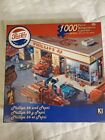 Pepsi Cola Phillips 66 1000 Piece Puzzle Fire Trucks and Wrecker 50s/60s