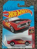 NEW 2018 Hot Wheels 324//365 Custom /'67 Pontiac Firebird #5//10 HW Flames NIB
