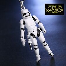 Star Wars Storm Trooper Figurine metal replica keychain Key chain collectible wh