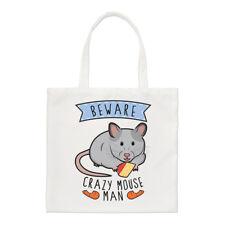 Méfiez-vous fou souris homme PETIT SAC FOURRE-TOUT - blague amusante