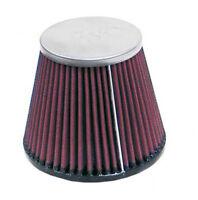 RC-8410 K&N Universal Chrome Air Filter 70MM FLG, 89MM T-OD, 133MM B-ID, 110MM H