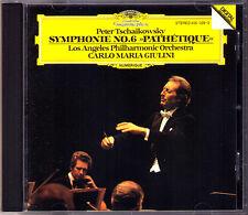 Carlo Maria GIULINI: TCHAIKOVSKY Symphony No.6 Pathetique DG 1981 CD Sinfonie LA