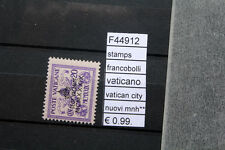 FRANCOBOLLI STAMPS VATICANO VATICAN CITY NUOVI MNH** (F44912)