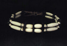 Two Row Bone Hairpipe Choker - Sioux Handmade