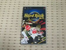 Hard ROCK CASINO per SONY PSP * OVP *