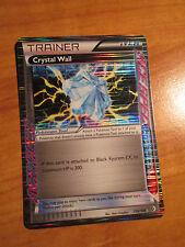 EX Pokemon CRYSTAL WALL Card BOUNDARIES CROSSED Set 139/149 Black White Ace TCG