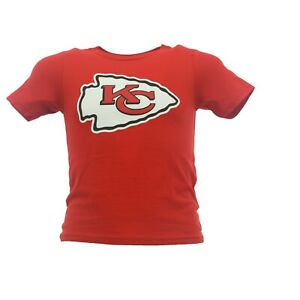 Kansas City Chiefs Official NFL Apparel Infant Toddler Size T-Shirt New W Tags