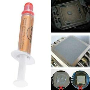 High Performance Gold Thermal Grease CPU Heatsink Compound Paste Syringe