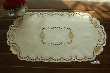 "Christmas Bells Embroidered Table Runner 14x27"" Home Wedding Decoration Ornament"