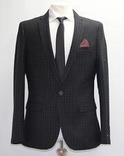 Men's Harry Brown, Black check suit Blazer (40R)... sample 1490