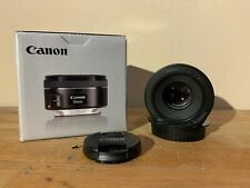 Canon ef 50mm f/1.8 STM lens- lightly used, great quality!!