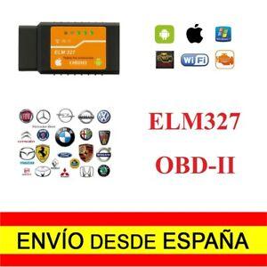 Herramienta Diagnosis ELM327 Interfaz V2.1 Wifi OBD-II OBD2 Entrega 48/72H a2518