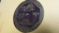 NORTON PAYNE PATHE 78 RPM RECORD 25210 ELEGIE