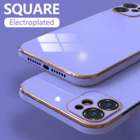Ultradünne Handyhülle Für iPhone 12 11 Pro Max XS X 8 7 Beschichtung Soft Cover