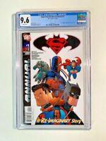 Superman/Batman Annual # 1 DEADPOOL appearance IN DC Comics!!!! CGC 9.6