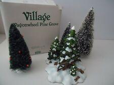 "Dept 56.52617 Village Accessory "" Wagonwheel Pine Grove """