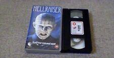 Hellraiser NEW WORLD 1st UK PAL VHS VIDEO 1987 Clive Barker British Horror