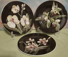 American Atelier Floral Ecstasy Salad Plates Set Of 3
