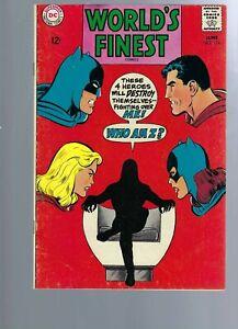 WORLDS FINEST 176  - BATGIRL SUPERGIRL  SILVER AGE SUPERMAN - BATMAN - DC COMICS