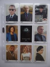 2017 JAMES BOND ARCHIVES Final Édition SPECTRE / SKYFALL Expansions Set of 24