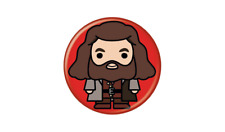 Harry Potter Hagrid Animated Style Character Pin Button
