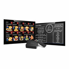 Digital Signage Media Players for Digital Menu Boards with FREE Signage Software