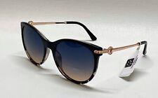 NWT Woman's Laundry Designer Sunglasses LD295 OXTS Black Tortoise