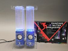 Dancing LED Water Speakers with Blue Base - New in Box