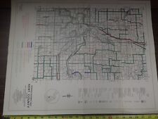 Vintage MDOT Michigan Department of Transportation KENT COUNTY Bicycle Map