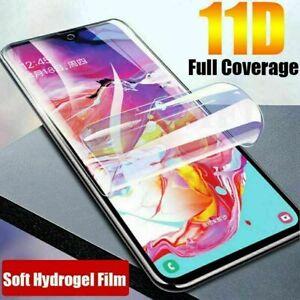Soft Screen Protector Hydrogel Film For Samsung Galaxy A20E A40 A50 A70 A10 A71