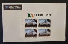 Ireland- Scott 1168- Irish Emigration, MNH 45 Eire 1999- mint stamp plate blk