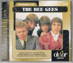 THE BEE GEES - MEMORIES OF THE BEE GEES - 2 CD ALBUM 26 TITRES 2001 NEUF SCELLE