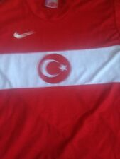 VTG Nike Authentic Turkey National Soccer Jersey Sz M Football Rare
