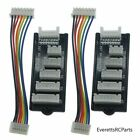 (2) JST-XH Balance Board 2S 3S 4S 5S 6S LiPo Battery Charger Charging Adapter RC