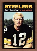 Terry Bradshaw '70 Pittsburgh Steelers rookie season MC Glory Days #16 NM cond