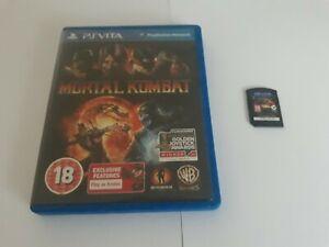 Mortal Kombat 2012 Fighting Game For Sony Playstation Vita PS Vita World Post!