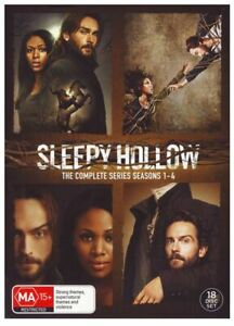 Sleepy Hollow : Season 1-4 (DVD, 2018, 18-Disc Set) - FREE SHIPPING AUSTRALIA!!!