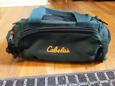 New listing Cabelas Fishing Utility Bag Gear Carry On Mini Duffel Tackle Green