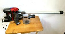 Dyson Dc35 Cordless Handheld Vacuum W/ Nozzle,Dock,Charger,Canis ter - Red/Silver