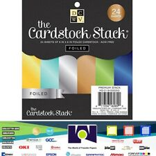 DCWV®️ STACK - DCWV - 6 X 6 - SOLID FOIL CARDSTOCK 24 SHEETS MS-019-00050