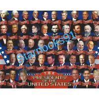 ALL 45 USA PRESIDENTS AMERICA TRUMP OBAMA CLINTON BUSH REAGAN- 8X10 PHOTO