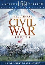 ULTIMATE CIVIL WAR 7 PART SERIES New Sealed 2 DVD Set 5 Hours