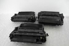 LOT-3 Remanufactured Toner Cartridge for HP P3015dn P3010 Printer 55X CE255X NEW
