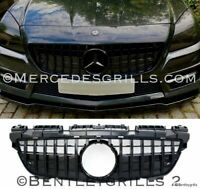 MERCEDES SLK R172 GRILLE PANAMERICANA GT AMG R172 GRILL 2011-2015 GLOSS BLACK