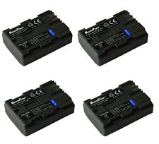 4x Camera Battery For CANON BP-512 EOS KISS 10D 1D 5D 20D DM-FV300 FV100 MV300