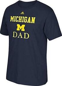 adidas Michigan Wolverines Dad T-Shirt sz Large