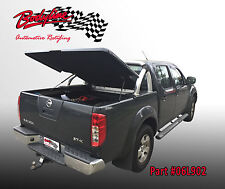 NISSAN NAVARA D40 DUAL CAB UTE LID - 3 PIECE - SUITS WITH SPORTS BAR - UNPAINTED