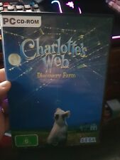Charlotte's Web - Discovery Farm -  PC GAME - FREE POST *
